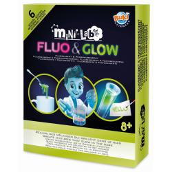 FLUO & GLOW mini lab zestaw naukowy