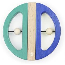 SWIVEL BUG drewniane klocki magnetyczne Teal/Blue
