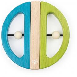 SWIVEL BUG drewniane klocki magnetyczne Green Teal