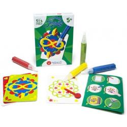 MANDALA magiczny piasek do kolorowania Pocket Kit