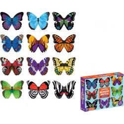 MOTYLE gra memory z elementami w kształcie motyli 24 el.