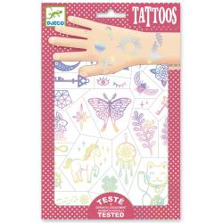 TALIZMANY metaliczne tatuaże