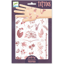 LATO metaliczne tatuaże