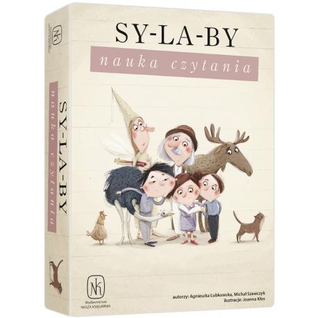 SYLABY. NAUKA CZYTANIA gra edukacyjna Agnieszka Łubkowska