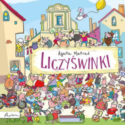 LICZYŚWINKI książka dla dzieci Agata Matraś