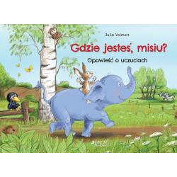 GDZIE JESTEŚ MISIU? Opowieść o uczuciach książka dla dzieci Julia Wolmert