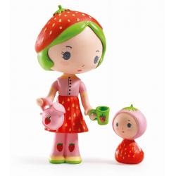 BERRY & LILA figurki do zabawy zestaw 2 szt. Tinyly