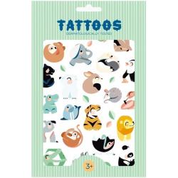 WILD ANIMALS tatuaże zestaw