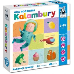 KALAMBURY tekturowa gra rodzinna