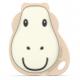 ŻYRAFA płaski gryzak masujący z wypustkami Flat Face