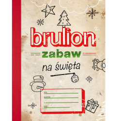 OUTLET - BRULION ZABAW NA ŚWIĘTA książka z zadaniami