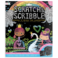 OGRÓD KSIĘŻNICZKI zdrapywanka Scratch & Scribble