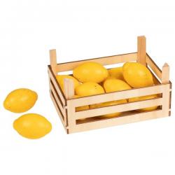 CYTRYNA drewniany owoc