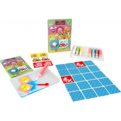 FARMA magiczny piasek do kolorowania Mini Kit Memory
