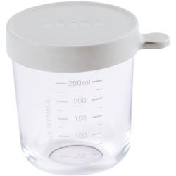 LIGHT MIST pojemnik słoiczek szklany z hermetycznym zamknięciem 250 ml