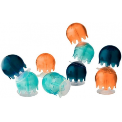 MEDUZY zabawka do kąpieli przyssawki Jellies Cool kolor