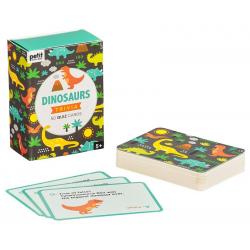 DINOZAURY zagadki po angielsku 50 kart