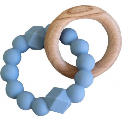 KSIĘŻYCOWY GRYZAK dwuelementowy niebieski