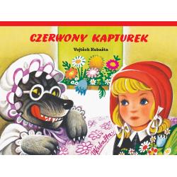 CZERWONY KAPTUREK książka pop-up Vojtech Kubasta