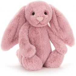 KRÓLICZEK różowa przytulanka Bashful Tulip Pink Bunny 31 cm