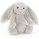 KRÓLICZEK szara przytulanka Bashful Silver Bunny 31 cm