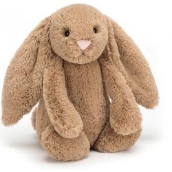KRÓLICZEK brązowa przytulanka Bashful Biscuit Bunny 18 cm