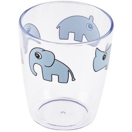 BLUE akrylowy kubeczek 120 ml Yummy mini glass