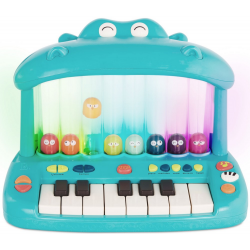 KEYBOARD ze skaczącymi ptaszkami Hippo Pop Play Piano