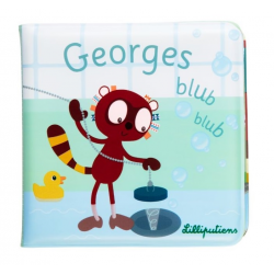 LEMUR GEORGE książeczka do kąpieli