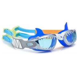SZCZĘKI granatowe okulary do pływania