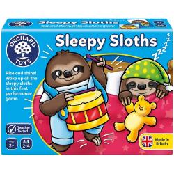 ŚPIĄCE LENIWCE gra dla dzieci