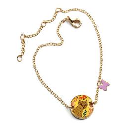 GEPARD bransoletka z medalionem Lovely Paper