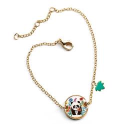 PANDA bransoletka z medalionem Lovely Paper