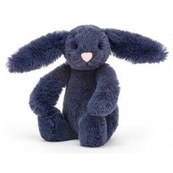 KRÓLICZEK granatowa przytulanka Bashful Bunny 18 cm