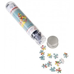 MAPA ŚWIATA mini puzzle tekturowe 150 el.