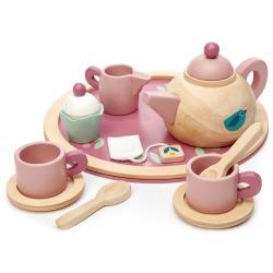 MINI CHEF drewniany serwis do herbaty