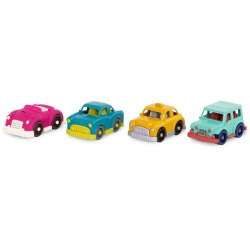 MINI RIDERS zestaw pojazdów 4 szt.