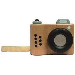 DREWNIANY APARAT FOTOGRAFICZNY kalejdoskop