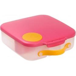 RÓŻOWY lunchbox z wkładem chłodzącym Strawberry shake