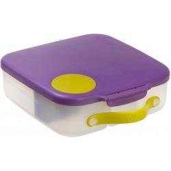 FIOLETOWY lunchbox z wkładem chłodzącym Passion Splash