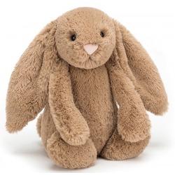 KRÓLICZEK brązowa przytulanka Bashful Biscuit Bunny 31 cm