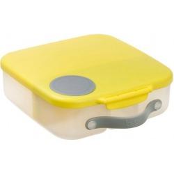 ŻÓŁTY lunchbox z wkładem chłodzącym Lemon Sherbet