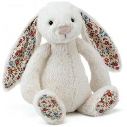 KRÓLICZEK kremowa przytulanka Blossom Bunny 18 cm