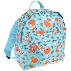 LISEK niebieski plecak