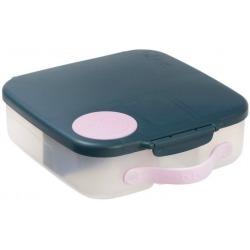 SZARY lunchbox z wkładem chłodzącym Indigo Rose