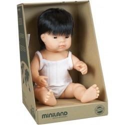 AZJATA lalka chłopiec 38 cm