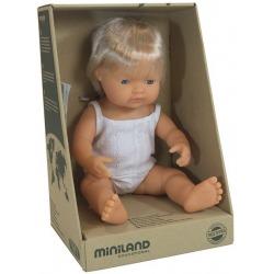 EUROPEJCZYK lalka chłopiec 38 cm