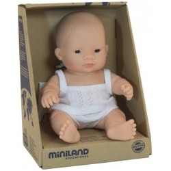 AZJATA lalka chłopiec 21 cm
