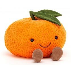 MANDARYNKA pomarańczowa przytulanka 24 cm Amuse
