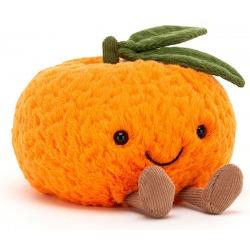 MANDARYNKA pomarańczowa przytulanka 14 cm Amuse